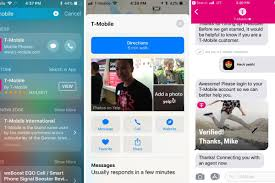 Tmobile Custumer Service T Mobile Now Lets You Chat With Customer Support In Imessage