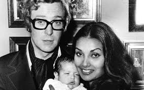 young michael caine wife. Modren Michael Michael And Shakira Caine With Their Daughter 25th September 1973 To Young Wife E