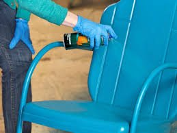 amazing painting metal chair how to paint an outdoor d i y step 8 idea direction with chalk