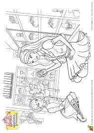 Coloriage Barbie Apprentie Princesse 24 Sur Hugolescargot Com