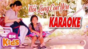 Karaoke Nỗi Lòng Con Yêu - Tuyển tập nhạc thiếu nhi hay. - #1 Xem lời bài  hát
