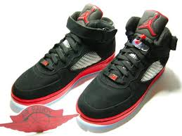 jordan air force 1. air jordan 5 x force 1 black/red