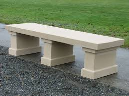 stone garden table and benches contemporary outdoor bench small wooden bench stone concrete garden furniture teak garden bench