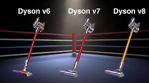 Dyson V7 Models Comparison Chart Dyson V8 Vs V7 Vs V6 Cordless Vacuum Differences Comparison