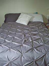 Be Sweetly Inspired: Pintuck duvet cover from Rit dyed sheets &  Adamdwight.com