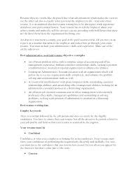 Administrative Assistant Resume Objective Postwing Co