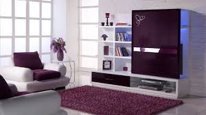 Purple Living Room Purple And Gray Living Room House Design Ideas