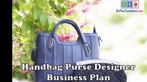 Bag business plan
