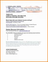 Stirring Usajobs Sample Resume Templates Template Best Usa Jobs