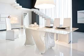 awesome white glass dining table tcwavediningtablefixedwhitebasewhiteglass dining