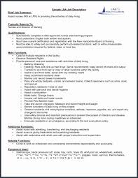 Server Job Duties For Resume