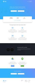 Flat Ecommerce Design Inspiration Flat Landing Page Design Inspiration Lapa Ninja