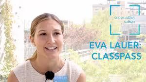 Interview: Eva Lauer, ClassPass - YouTube