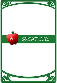 Good Job Template Certificates 4 Teachers Free Certificate Builder Award