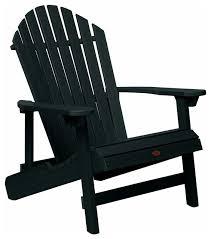 chesapeake folding and reclining adirondack chair black black adirondack chairs s30