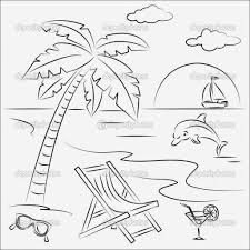 Small Picture 10 Summer Coloring Pages For Kids beach scene