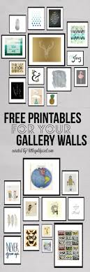 Printable Room Decor Free Printable Wall Art From Chicfetti Money And Time Saving