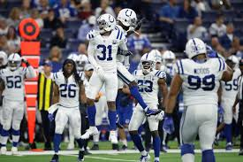 Indianapolis Colts Depth Chart 2018 Notes From Colts First 2018 Regular Season Depth Chart