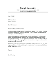 Cover Letter Sample For Teacher Resume Bank