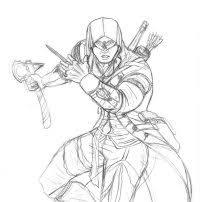 Disegni Assassins Creed Da Colorare Disegno Assassincreed11