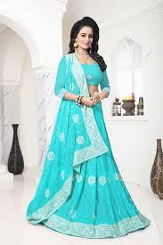 Stunning Designer Sarees Stunning Blue Self Designer Saree