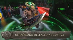 new hero unveiled at ti6 underlord is coming to dota 2 on august