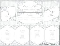 Wedding Seating Chart Template Word Printable Wedding Seating Chart Livedesignpro Co