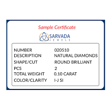 Color And Clarity Of Diamond 10 Cents 0 10 Carat G H Si 2 Pcs Best Diamond Prices In India