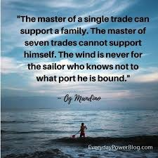 40 Best Og Mandino Quotes About Life Everyday Power Unique Og Mandino Quotes
