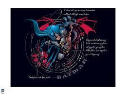 Batman Batman Informational Poster Design Explaining The Outfit