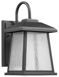 outdoor wall sconce textured black