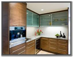 frameless glass cabinet doors kitchen cabinet home