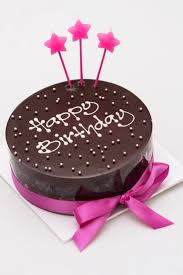 Buy Online We Deliver Star Candle Chocolate Cake Cake Company