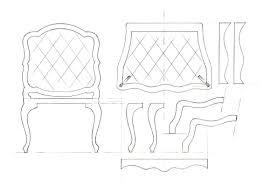 Template drawings for furniture model-making | davidneat