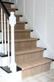 natural fiber runner install a rug as stair again i love the way changed our house natural fiber runner