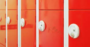 Families Ask Court To Suspend School Bathroom Policy - Bathroom locker