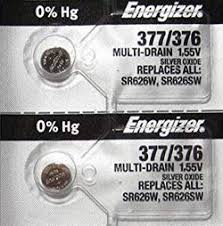 Button Cell Equivalent Chart Ag4 Lr626 Lr66 177 376 377 Sr626 Sr626sw Watch Battery