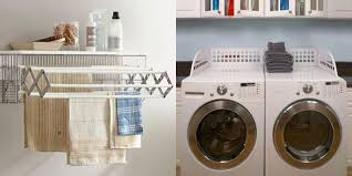 Brilliant small functional laundry room decoration ideas Washer Dryer Laundry Room Organization Womans Day 20 Laundry Room Storage And Organization Ideas How To Organize