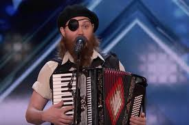 """French Accent"""" Kevin Bennett wins over the crowd on America's Got ..."""