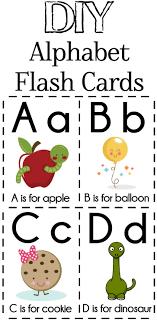 Diy Alphabet Flash Cards Free Printable Alphabet Flash Cards