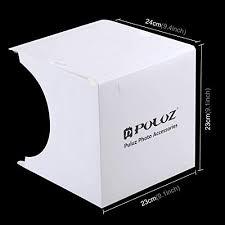 Photo Studio Box with LED Light, <b>PULUZ 20cm</b> Mini Portable ...