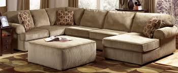 Furniture Charming Cheap Sectional Sofas In Cream Brown Carpet