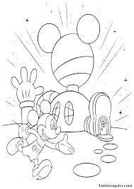 Mouse Coloring Coloring Free Printable Mickey And Mouse Coloring