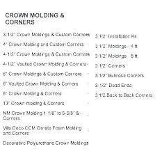 Compound Miter Angle Chart What Angle To Cut Crown Molding Certifiedsoccertips Co