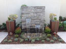 Large Contemporary Outdoor Water Fountains