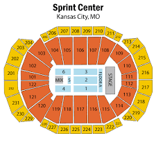 Sprint Center Detailed Seating Chart Sprint Center Kc Concerts Chino Hills Vellano