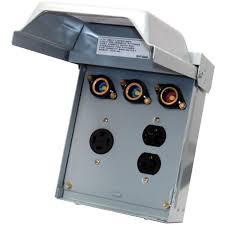 ge 40 amp 240 volt fused evaporative cooler disconnect u261f the