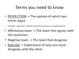 debates lg ppt 5 terms