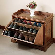 wooden shoes rack with endearing design for your interior using cool shoe racks amazing white wall painting room with