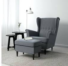 chair and ottoman ikea attractive poang in grey color with a chevron cover regard to 10